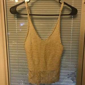 f395915d33 ... Brandy Melville Festival Crochet Crop Top!